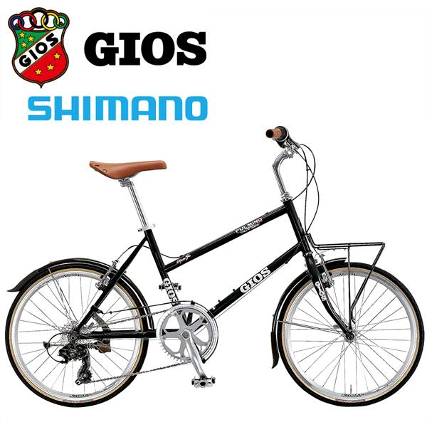 GIOS ジオス ミニベロ PULMINO ジオス プルミーノ ブラック 小径車