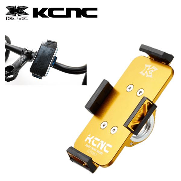 KCNC スマートフォンホルダー アルミ H850MM X W50MM ゴールド 003479