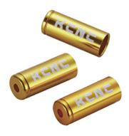 KCNC ディレーラーケーブルハウジイングキャップ 150PCS 4MM ゴールド 221009