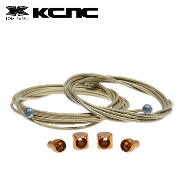 KCNC チタンシフターワイヤー F-1800MM/R-2100MM 220560