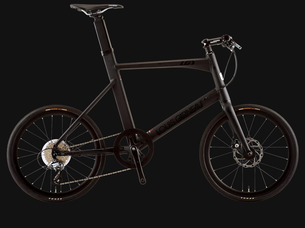 LOUIS GARNEAU ルイガノ EASEL ADVANED 3 MATTE LG BLACK 小径自転車 ミニベロ