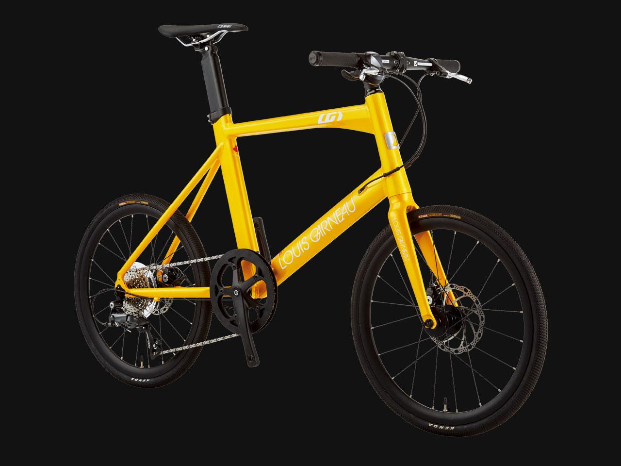 LOUIS GARNEAU ルイガノ EASEL ADVANED 3 SUNSHINE YELLOW  小径自転車 ミニベロ