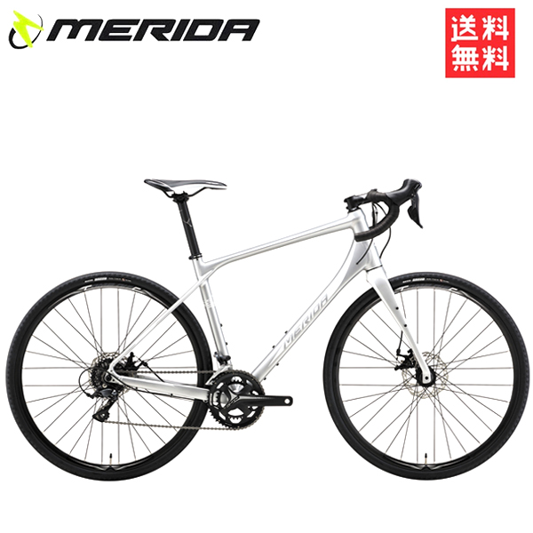 【型落ち 特価】 メリダ ロードバイク メリダ サイレックス 2018 「MERIDA SILEX 200」 ES48 送料無料 ロードバイク