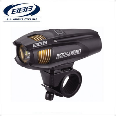 BBB フロントライト 028608 ストライク 500B ブラック【ロードバイク】 【02P03Dec16】 ★