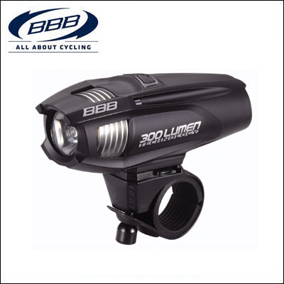 BBB フロントライト 028605 ストライク 300 ブラック【ロードバイク】 【02P03Dec16】 ★