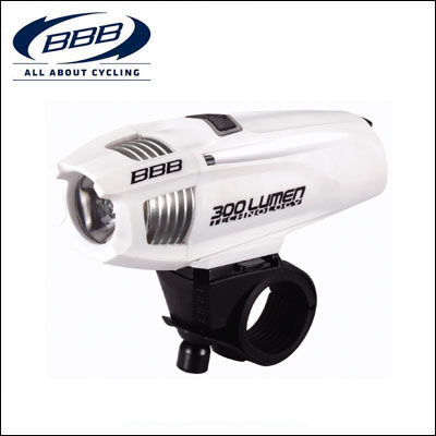 BBB フロントライト 028606 ストライク 300 ホワイト【ロードバイク】 【02P03Dec16】 ★