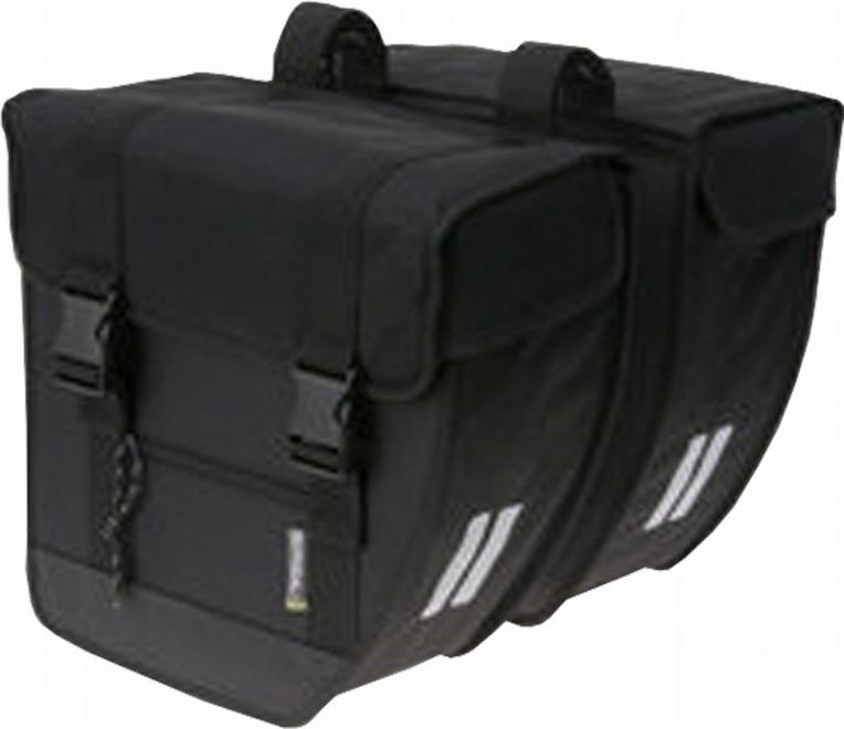 BASIL バジル ツアーXLダブル ブラック 012293 パニアバック