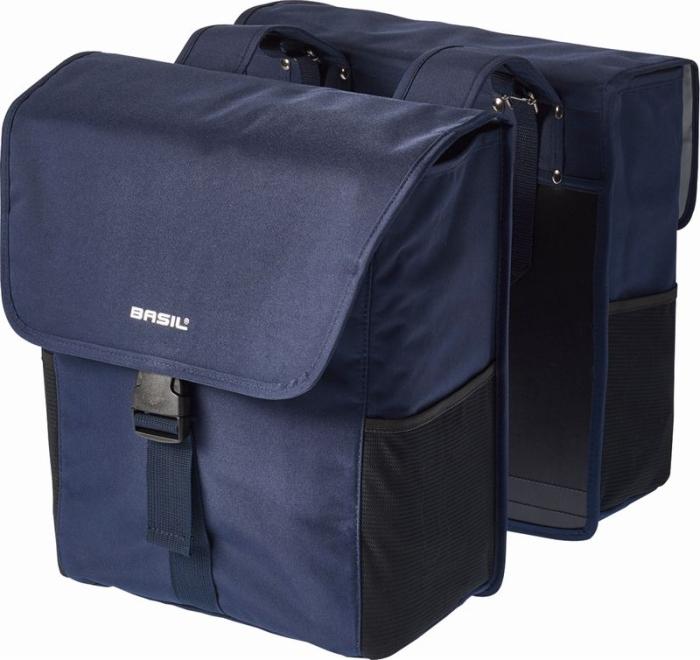 バジル ゴー ダブルバッグ BASIL GO DOUBLE BAG 32L ブルー 012475 パニアバック