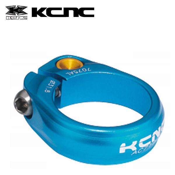 11-kcnc1-110 KCNC ロードプロ チタンボルト シートクランプ ブルー 31.8mm メーカー在庫限り品 653106 数量限定アウトレット最安価格