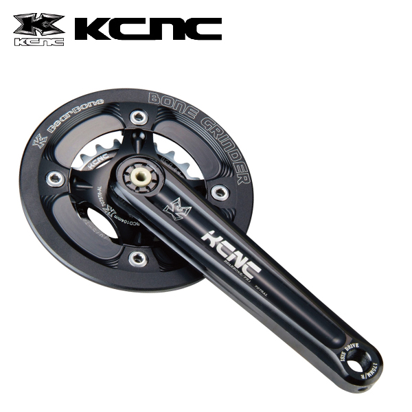 KCNC ベアボーン FR1 ISIS 165MM 32X22T ブラック 260281