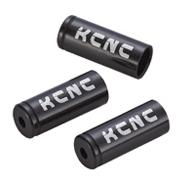 KCNC ディレーラーケーブルハウジイングキャップ 150PCS 4MM ブラック 221001