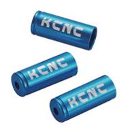 KCNC ディレーラーケーブルハウジイングキャップ 150PCS 4MM ブルー 221004
