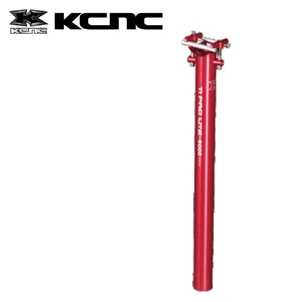 KCNC TIプロライト 27.2X400MM レッド 658942