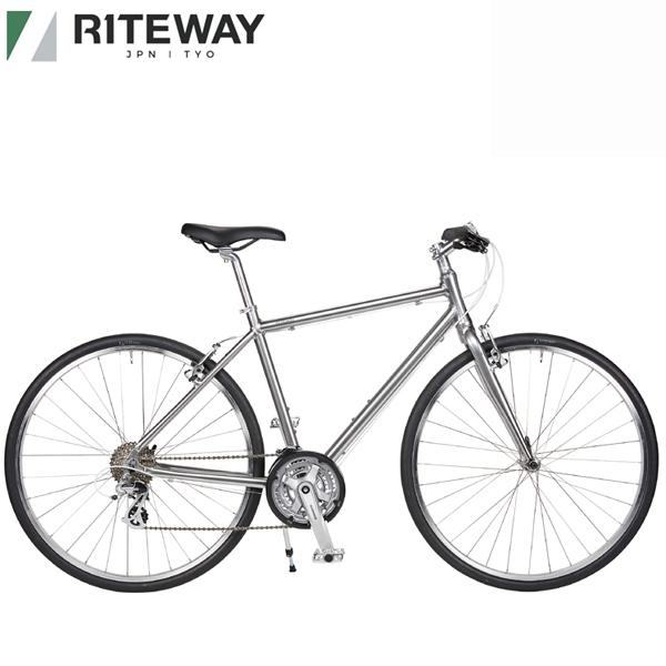 2020 ライトウェイ シェファード シティー RITEWAY SHEPHERD CITY グロスチタンシルバー 自転車/クロスバイク