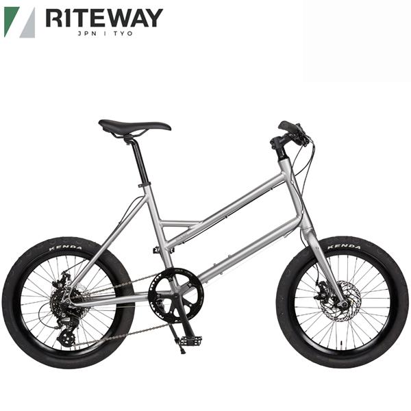 国内正規総代理店アイテム 特売 ライトウェイ グレイシア RITEWAY GLACIER 送料無料 自転車 マットグレー ミニベロ 2021