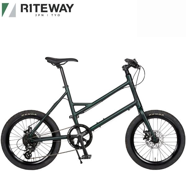 ライトウェイ グレイシア RITEWAY GLACIER 送料無料 自転車 海外輸入 オリーブ 返品交換不可 ミニベロ 2021