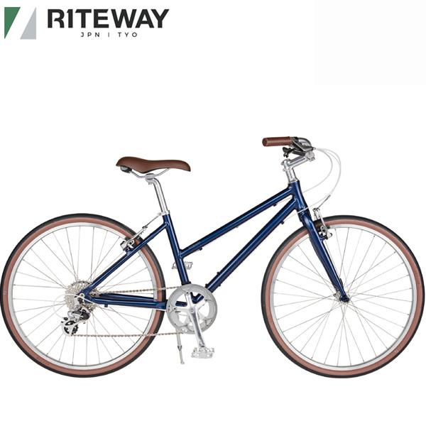 ライトウェイ 高級な パスチャー RITEWAY PASTURE クロスバイク 美品 2021 グロスネイビー 自転車