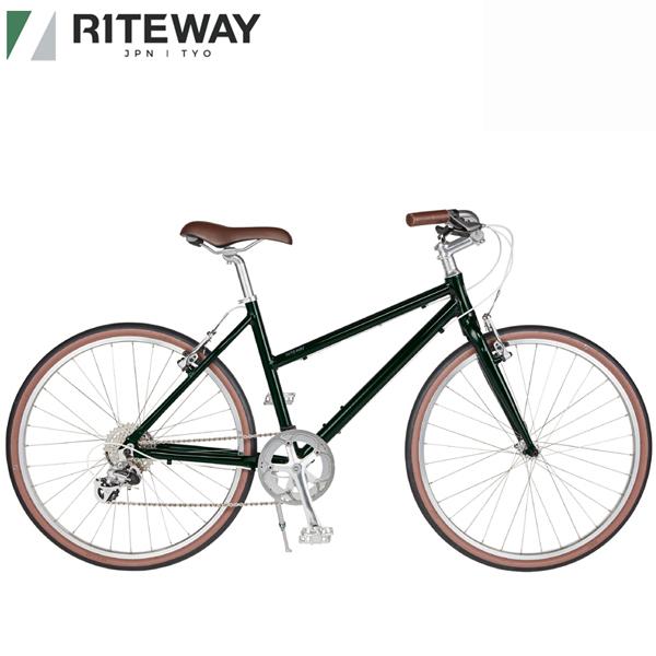 ライトウェイ パスチャー 人気海外一番 RITEWAY PASTURE クロスバイク 自転車 グロスダークオリーブ 正規認証品 新規格 2021
