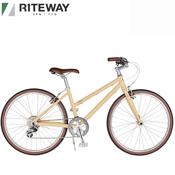 ライトウェイ パスチャー RITEWAY PASTURE 人気商品 2021 絶品 グロスベージュ クロスバイク 自転車