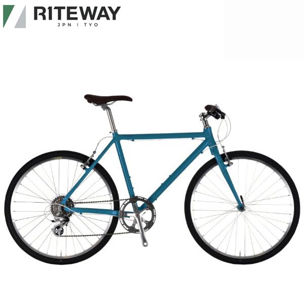 ライトウェイ シェファード RITEWAY 高額売筋 特別セール品 SHEPHERD クロスバイク 自転車 マットディープブルー