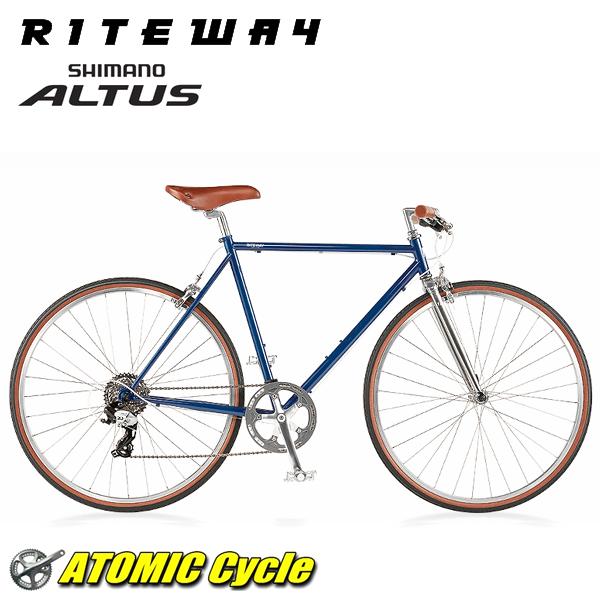 ライトウェイ クロスバイク RITEWAY STYLES ラトウェイ スタイルス グロスネイビー 2018 クロスバイク