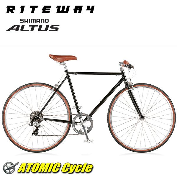 ライトウェイ クロスバイク RITEWAY STYLES ラトウェイ スタイルス グロスブラック 2018 クロスバイク