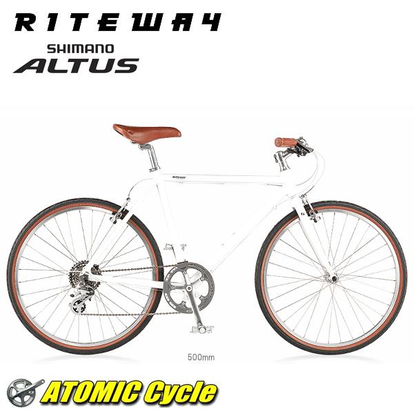 ライトウェイ クロスバイク RITEWAY PASTURE ライトウェイ パスチャー グロスホワイト 2018 クロスバイク