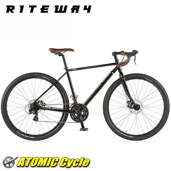 ライトウェイ クロスバイク RITEWAY SONOMA ADVENTURE ライトウェイ ソノマ アドベンチャー グロスブラック 2018 クロスバイク