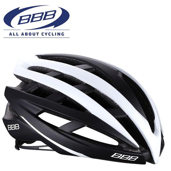BBB ICARUS V2 (BBB イカロス V2) マットブラック/ホワイト BHE-05 ロードバイク ヘルメット
