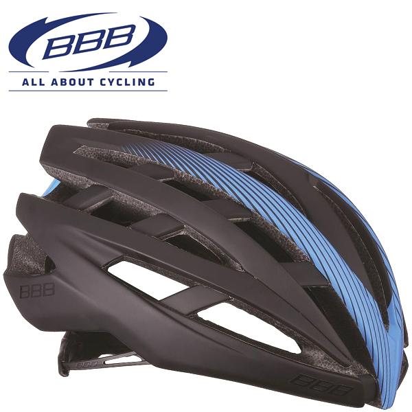 BBB ICARUS V2 (BBB イカロス V2) ブラック/ブルー BHE-05 ロードバイク ヘルメット