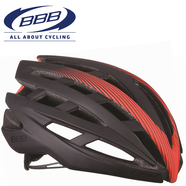 BBB ICARUS V2 (BBB イカロス V2) ブラック/レッド BHE-05 ロードバイク ヘルメット