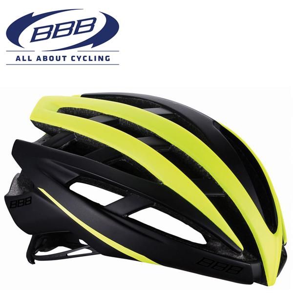 BBB ICARUS V2 (BBB イカロス V2) マットブラック/ネオンイエロー BHE-05 ロードバイク ヘルメット