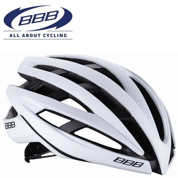 BBB ICARUS V2 (BBB イカロス V2) マットホワイト BHE-05 ロードバイク ヘルメット