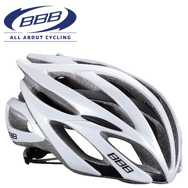 BBB FALCON V2 (BBB ファルコン V2) BHE-01 ホワイト ロードバイク ヘルメット
