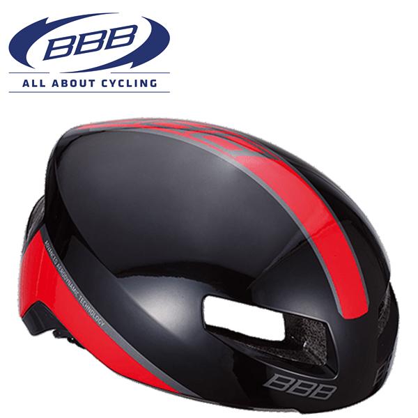 BBB TITHON V2 (BBB ティトノス V2) BHE-08 グロッシーブラック/レッド ロードバイク エアロ ヘルメット