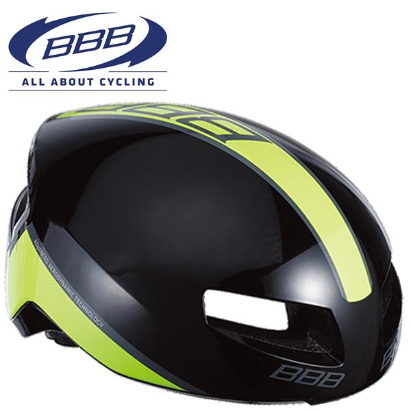 BBB TITHON V2 (BBB ティトノス V2) BHE-08 グロッシーブラック/ネオンイエロー ロードバイク エアロ ヘルメット