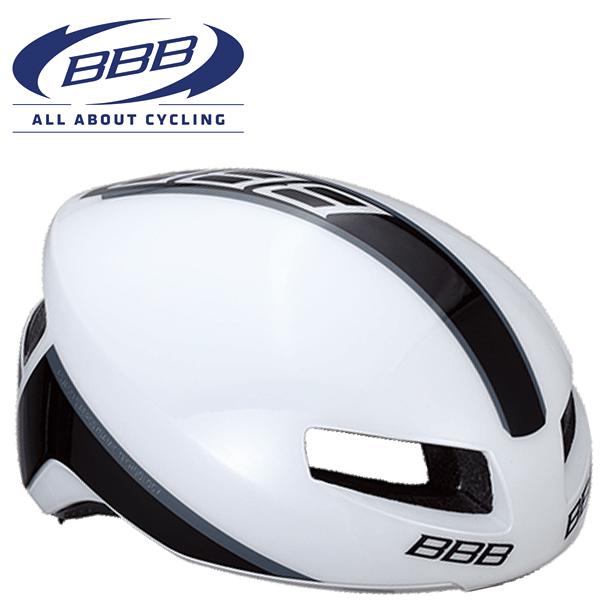 BBB TITHON V2 (BBB ティトノス V2) BHE-08 グロッシーホワイト ロードバイク エアロ ヘルメット