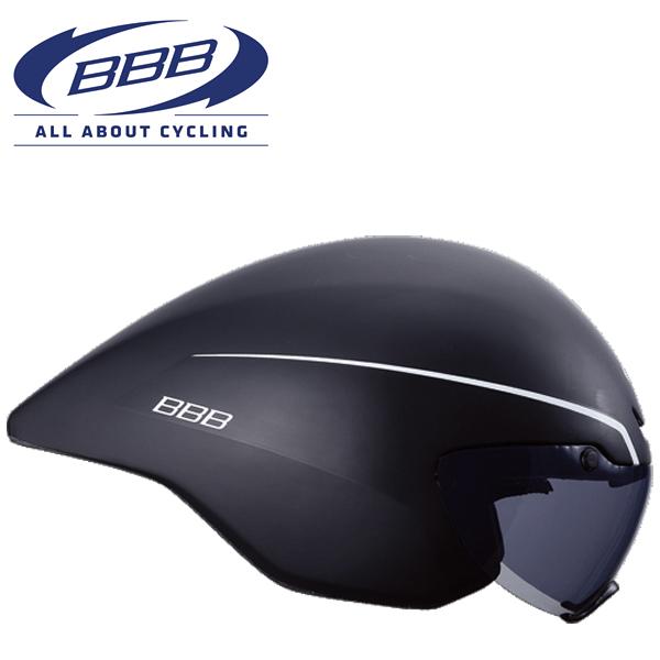 BBB AEROTOP (BBB エアロトップ) BHE-62 ブラック ロードバイク エアロ ヘルメット