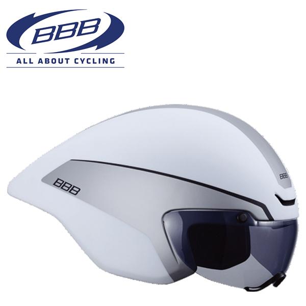 BBB AEROTOP (BBB エアロトップ) BHE-62 ホワイト ロードバイク エアロ ヘルメット