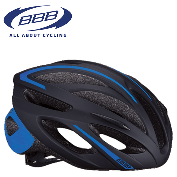 BBB TAURUS BHE-26 (BBB トーラス) ブラック/ブルー MTB/ロード ヘルメット