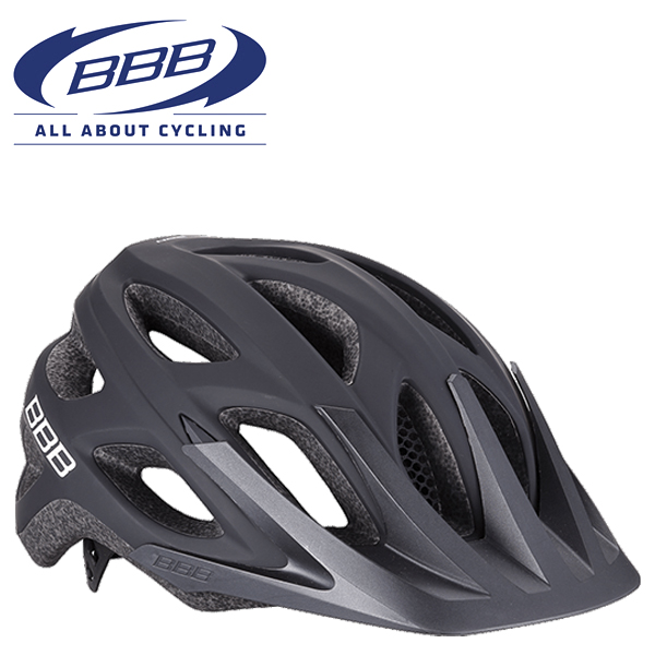 BBB VARALLO BHE-67 (BBB バラロ) ソリッドマットブラック MTB ヘルメット