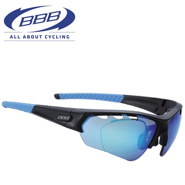BBB サングラス BSG-51 (BBB セレクト オプティック) 131381 PC スモークブルー MLC レンズ ブラック