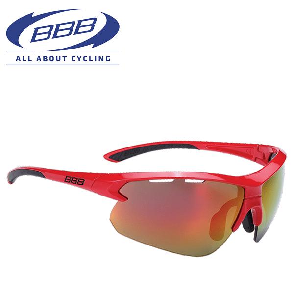 BBB サングラス (BBB インパルス) BSG-52 グロッシーレッド 131417 サングラス