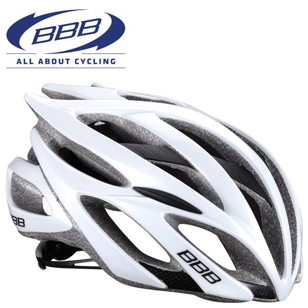(旧モデル特価) BBB FALCON (BBB ファルコン) ホワイト 154785 Mサイズ(55-58cm)