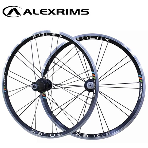 アレックス ホイール フォレックス 820517 406 ミニベロ F/R 24 100/130 ALEXRIMS WHEEL フォレックス