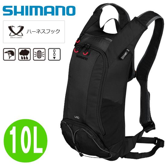 【即納】 【在庫あり】 SHIMANO シマノ U-10 10L ブラック EBGDPMAQW10UL0