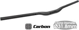 TIOGA タイオガ ハンドル バー ロングホーン カーボン 20 ライザーバー 780mm 31.8 HBR13800