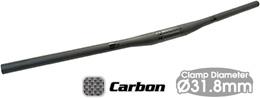 TIOGA タイオガ ハンドル バー ロングホーン カーボン フラットバー 750mm 31.8 HBR13900