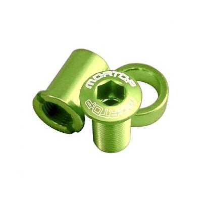 MORTOP BD-1 チェーンガード用ボルトセット 5pcs グリーン