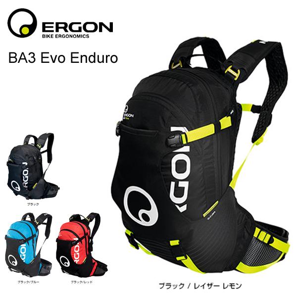 ERGON エルゴン BA3 EVO Enduro BA3 エヴォ エンデューロ 17L スモール 【送料無料】